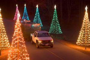 Callaway Gardens Christmas.Fantasy In Lights Callaway Gardens Christmas Lights In