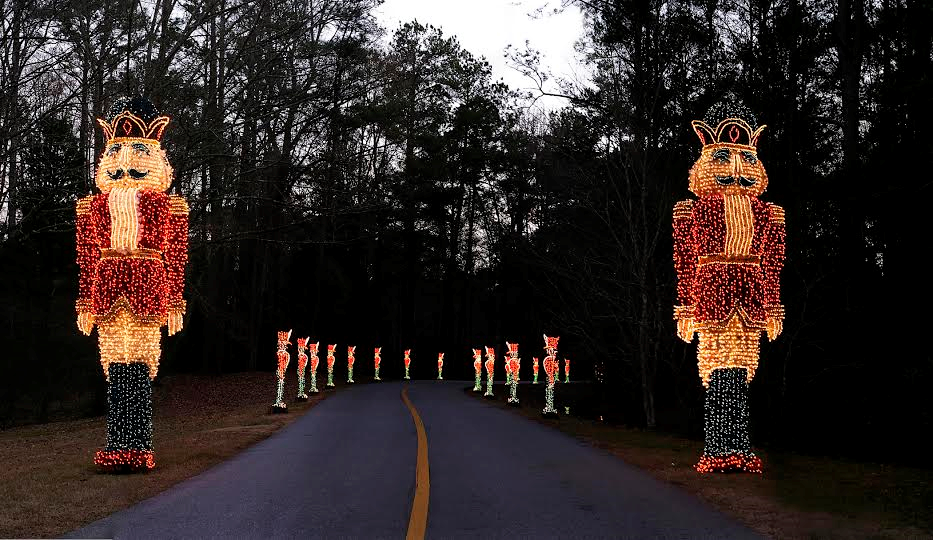 Callaway Gardens Christmas Lights.Nutcracker Fantasy In Lights Callaway Gardens