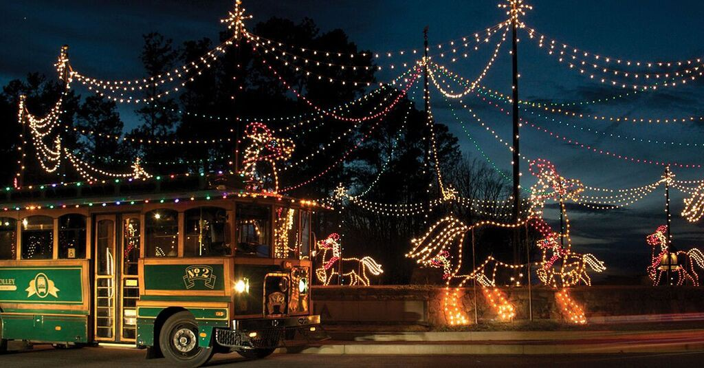 Callaway Gardens Christmas.Top 5 Places To See Christmas Lights In Atlanta Atl Bucket