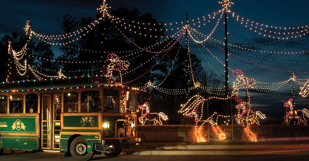 Trolley | Magical Nights of Lights | Lanier Islands | Christmas ...