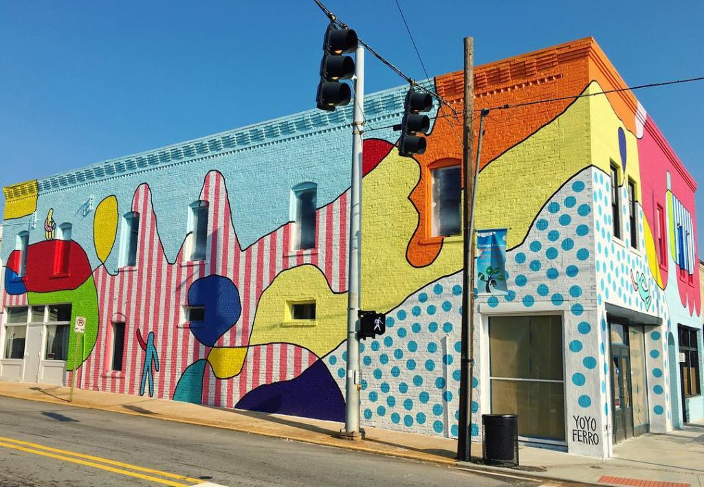 Yoyo Ferro | Best Wall Murals in Atlanta | ATL Bucket List