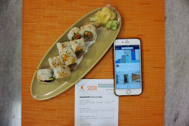 One Flew South Sushi | Delta | ATL Bucket List