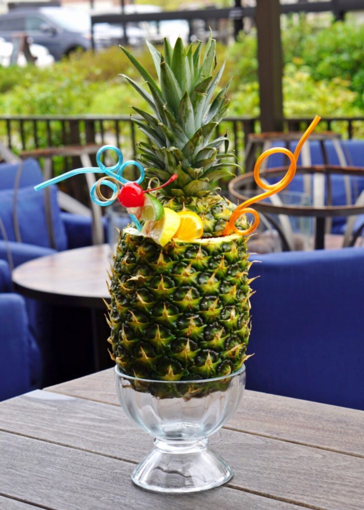 Pineapple 'Tiki Bomb' for Two | Tupelo Honey Cafe | Atlanta's Best Summer Cocktails | ATL Bucket List