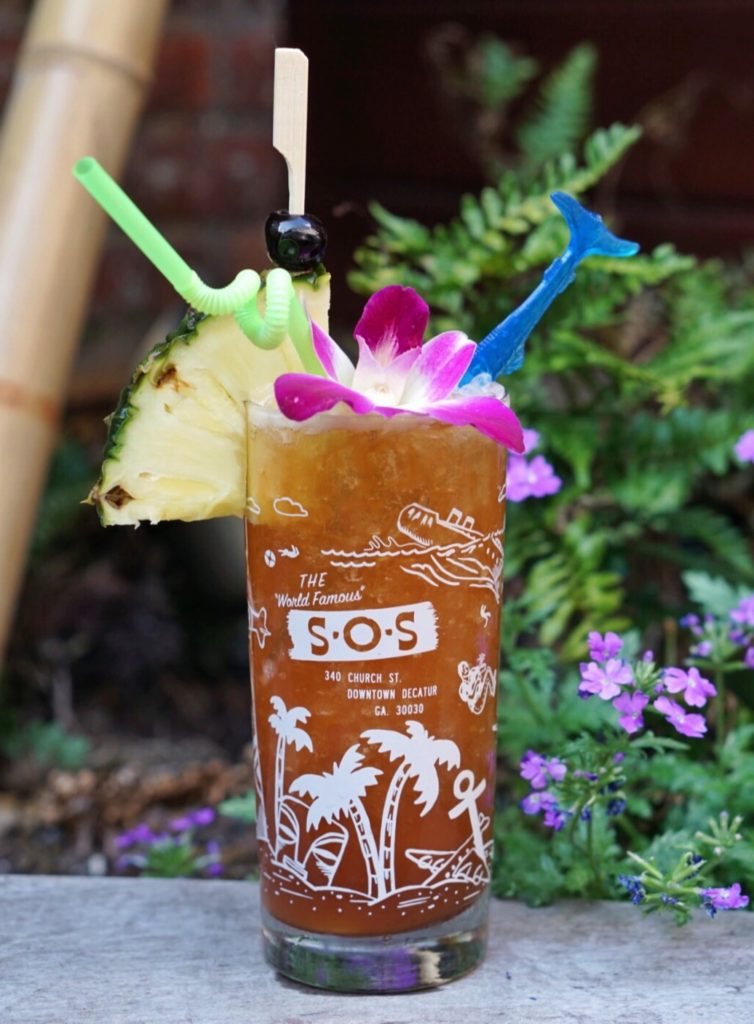 Prince Buster | SOS Tiki Bar | Atlanta's Best Summer Cocktails | ATL Bucket List