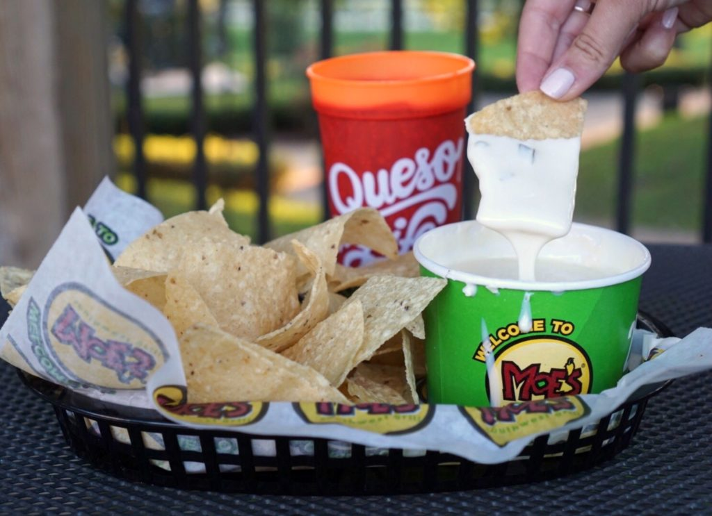 Free Queso Day | Moe's Southwest Grill | ATL Bucket List